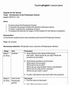 40 lesson plan templates free premium templates With british council lesson plan template