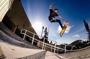 Skateboarding 360 Flip Gallery