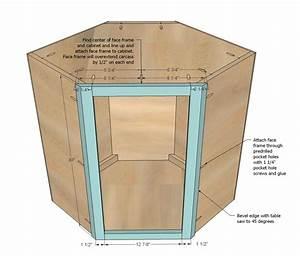 Ana White Wall Kitchen Corner Cabinet - DIY Projects
