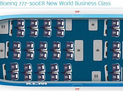 plan siege boeing 777 300er klm poursuit le rétrofit de ses appareils the