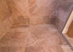 Custom tile shower ceramiques hugo sanchez inc for Epoxy grout shower floor