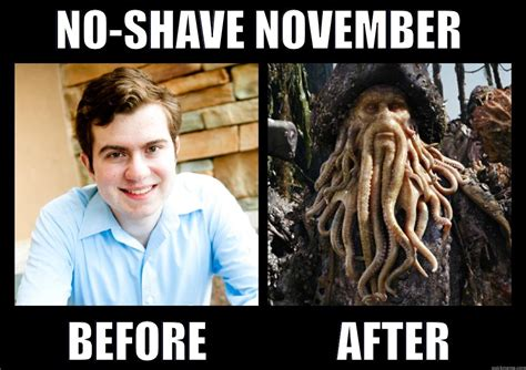After Shave Meme - no shave november quickmeme