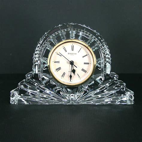 waterford vase waterford wharton mantel clock