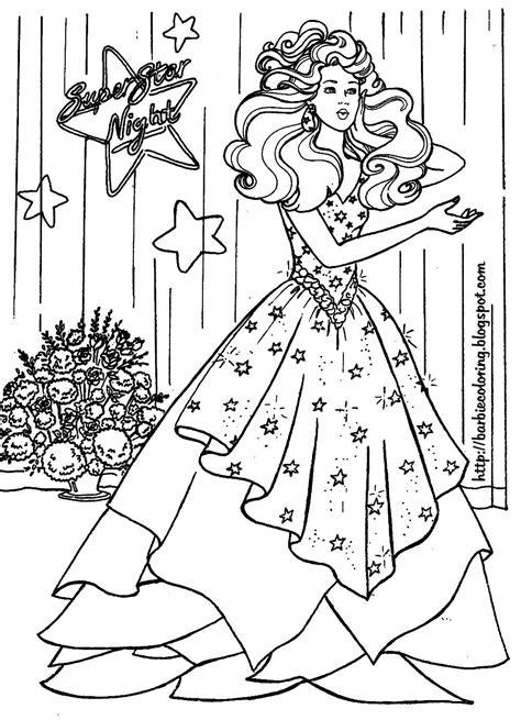 Barbie+Coloring+Pages BARBIE COLORING PAGES: BARBIE