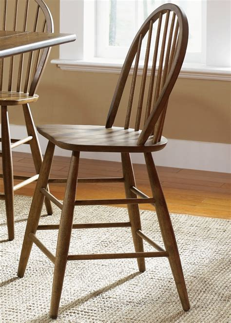 farmhouse back counter height chair set of 2 from