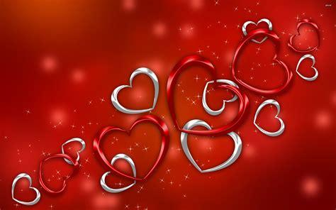 Red Heart Valentine Day Wallpaper