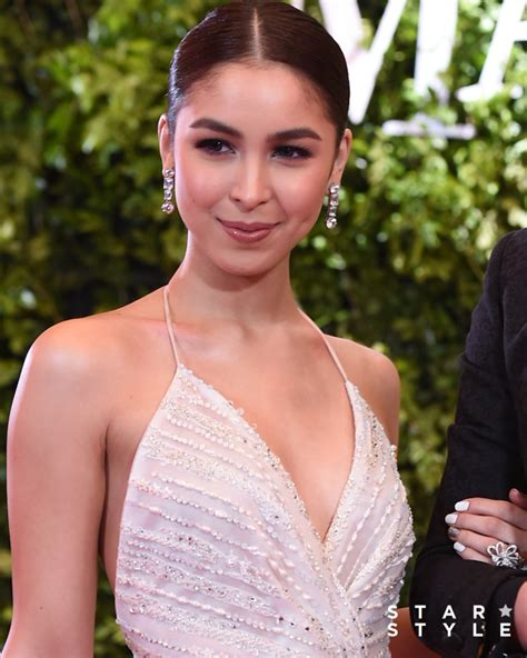 julia barretto on star magic ball 2017 the list best beauty looks at the star magic ball 2017