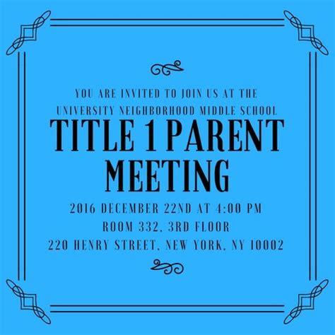 mandatory meeting flyer template