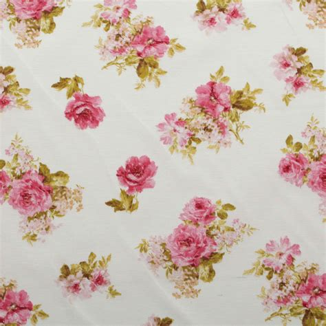 shabby upholstery fabric vintage chintz shabby roses print retro 100 cotton curtain upholstery fabric