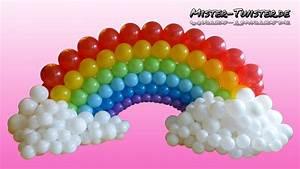 Balloon Rainbow, Decoration, Birthday, Ballon Regenbogen