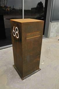 design briefkasten briefkasten aus edelstahl 22 minimalistische designs