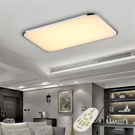 Led Lights For Room With Remote by 40w Led Ceiling Light Fixture L Flush Mount Room