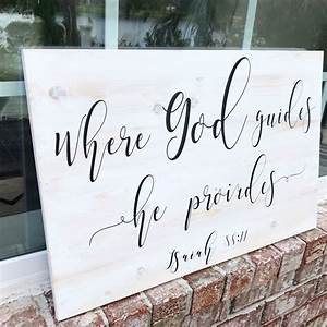 Trusted Shops Login : bible verse wood sign blessed sign in god we trust god provides faith white wash pine ~ Watch28wear.com Haus und Dekorationen