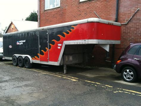Featherlite Race transporter triaxle 38ft American ...