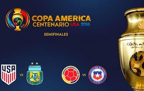 Los partidos y tabla de posiciones de copa américa se actualizan en tiempo real. Copa América 2016: EE.UU.-Argentina y Colombia-Chile, las ...