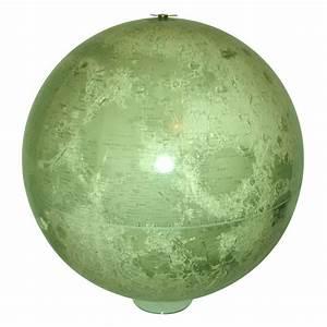 Vintage 1960's Lunar Globe Moon Space Exploration   Chairish