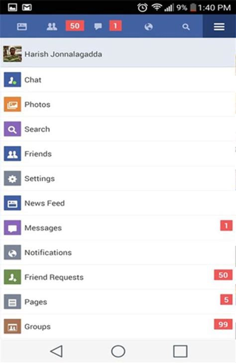 guide fb lite update  android apk
