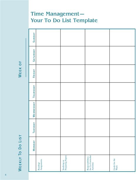 Timed To Do List Template by 2018 To Do List Template Fillable Printable Pdf Forms
