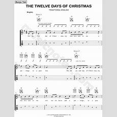 """Traditional English """"the Twelve Days Of Christmas"""" Sheet Music In C Major  Download & Print"""