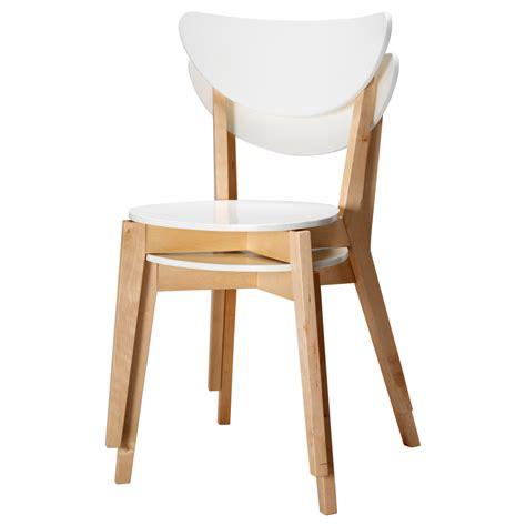 chaise blanche de cuisine chaise de cuisine ikea