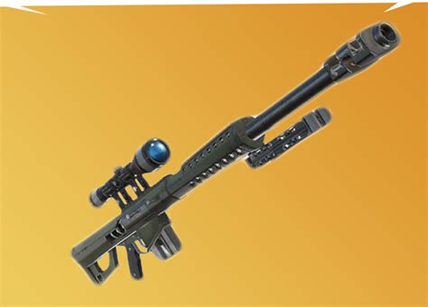 Leaked Heavy Sniper Coming To Fortnite As Building Nerf