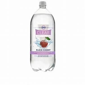 Clear American Black Cherry Sparkling Water, 2 l ...