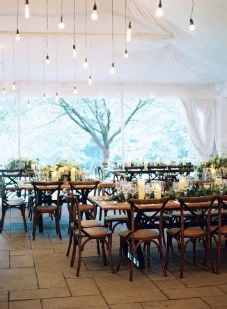 wood + green & white tablescape Chevy Chase Maryland