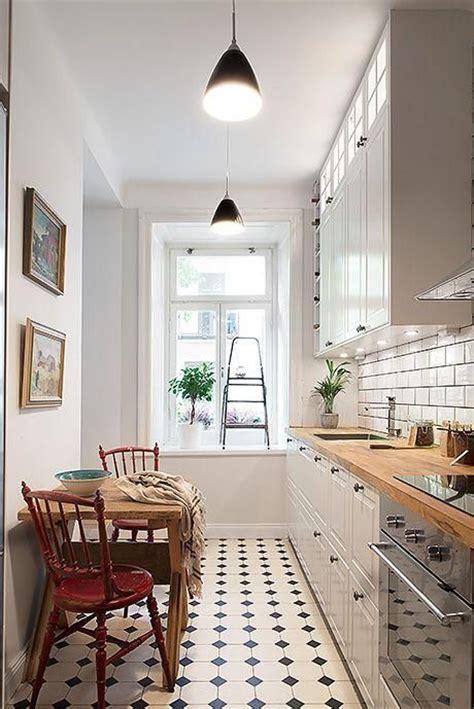 hogar diez como decorar cocinas alargadas
