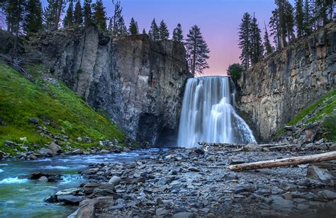 Cliffs Waterfall Rocks Trees Hd Nature 4k Wallpapers Images Backgrounds Photos And Pictures