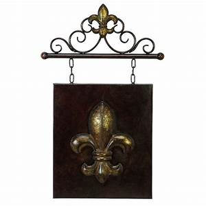 1000 images about fleur de lis on pinterest waterford With kitchen colors with white cabinets with metal fleur de lis wall art