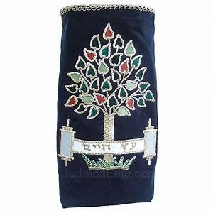 Ancient Scroll Designs Sefer Torah Covers Modern Torah Mantle M183