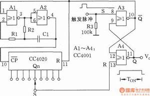 nc monostable multivibrator circuit oscillator circuit With the nc monostable multivibrator circuit shown in the chart is composed