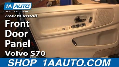 install replace remove front door panel volvo