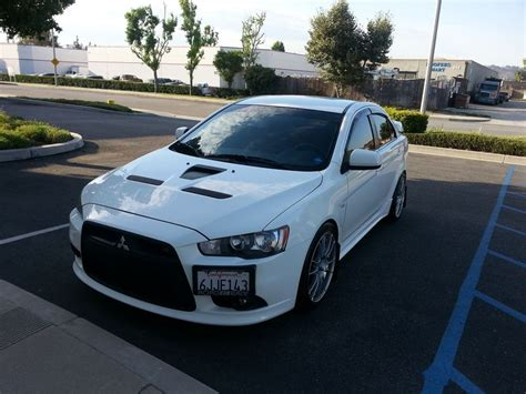Mitsubishi Lancer Ralliart Specs by Official Wheels Tires Stance Photo And Spec Thread Page