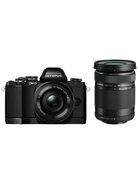Olympus OM-D E-M10 Compact System Camera with 14-42mm EZ