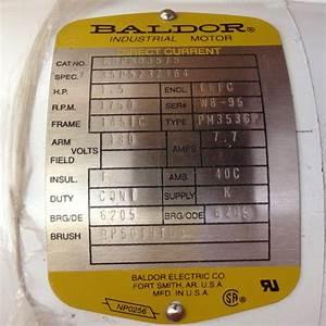 18  20 Hp Wash Down Baldor Motor