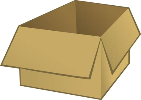 Box Clip Open Box Clip Free Vector In Open Office Drawing Svg