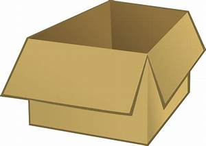 Open Box clip art Free vector in Open office drawing svg ...