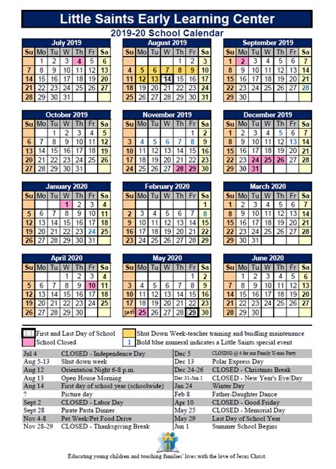saints calendar saint michael lutheran school