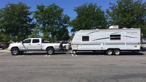 travel trailer towing capability tacoma world