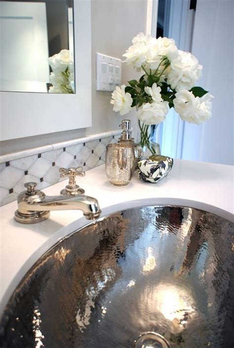 glam bathroom decor ideas  swoon  digsdigs