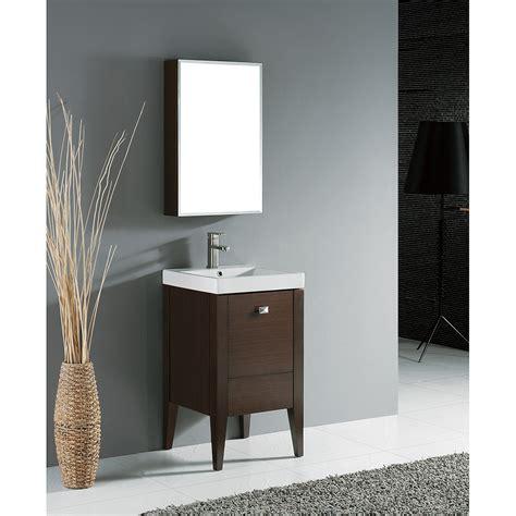 "Madeli Andora 20"" Bathroom Vanity  Walnut  Free Shipping"