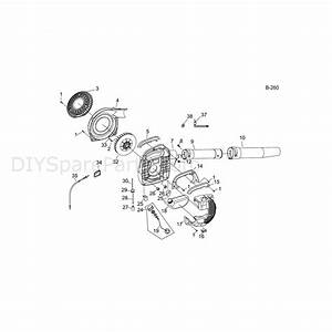 Mitox 26b Select Blower  26b Select Blower  Parts Diagram