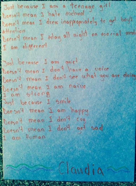 student poems  shattering