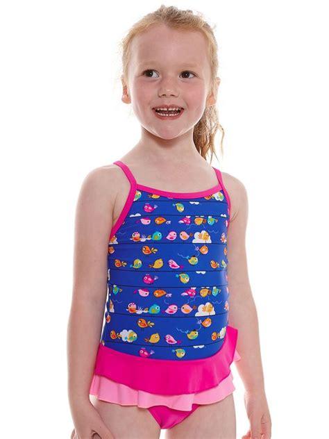 Zoggs Pretty Bird Toddler Girls One Piece