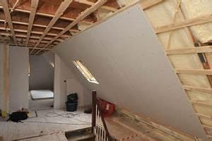 Trockenbau Dachschräge Anleitung : d mmung der dachschr gen handwerk dachboden ideen ~ Watch28wear.com Haus und Dekorationen