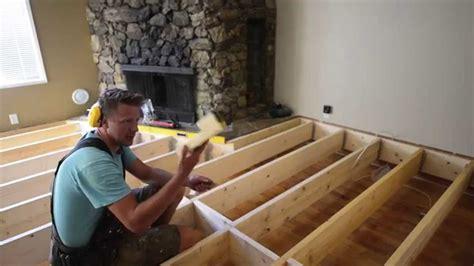 fill   sunken living room  samurai carpenter