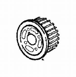 Chrysler Pt Cruiser Gear  Sprocket  Crankshaft  Timing Belt  Timing  Used With Damper