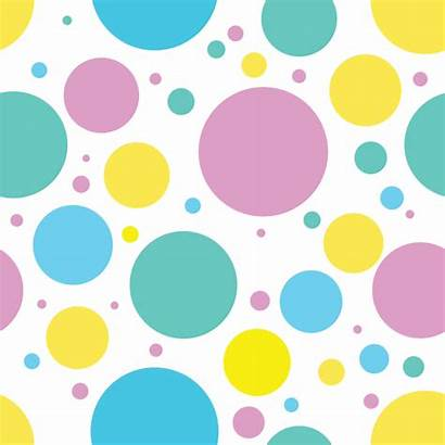 Circle Pattern Seamless Abstract Transparent Clipart Dot