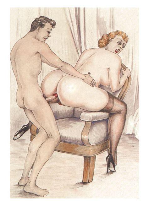 Art Toon Porno Erotic Drawings Hardcore Cartoons Vintage Pics